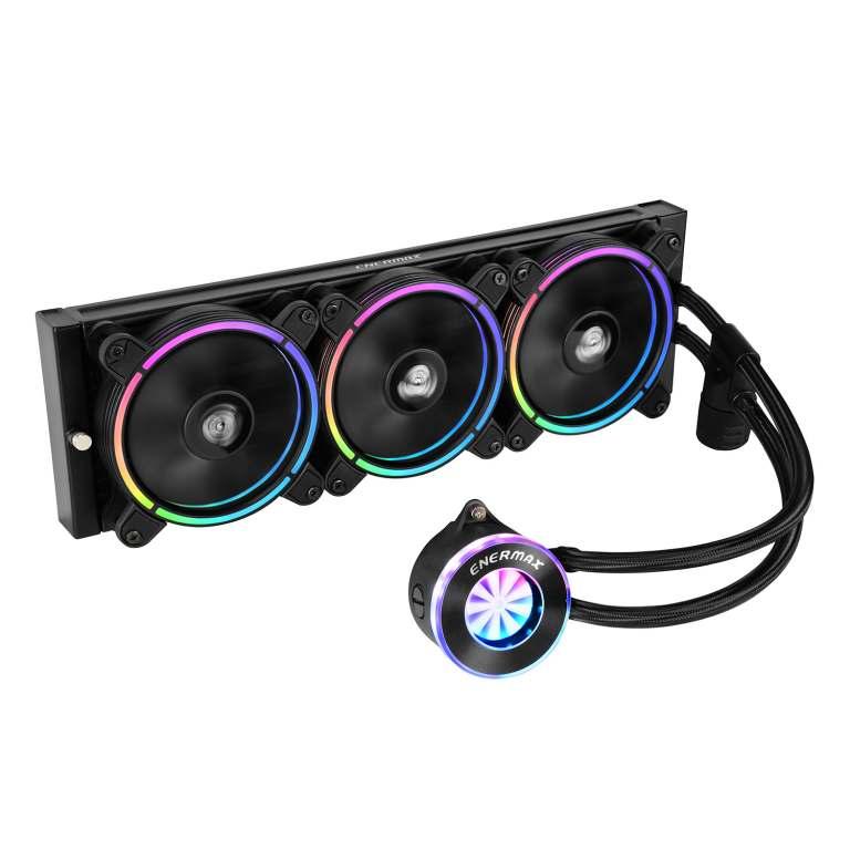 幻彩飛輪 LIQFUSION360 ARGB 一體式CPU水冷散熱器-1