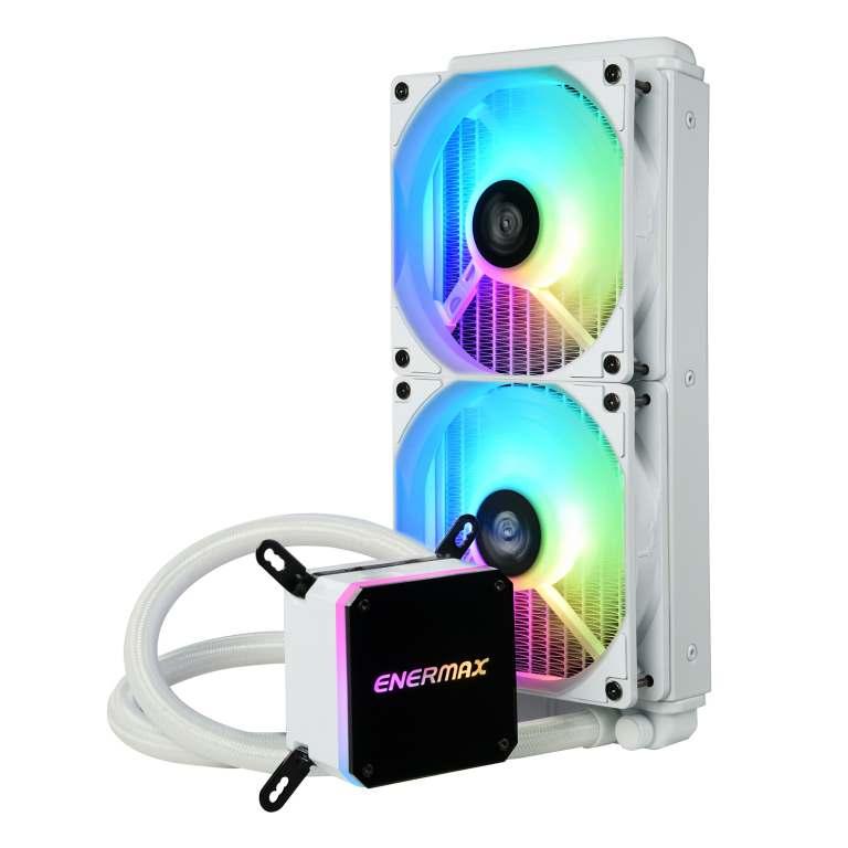 LIQMAX III ARGB series 240mm CPU liquid cooler-white-1