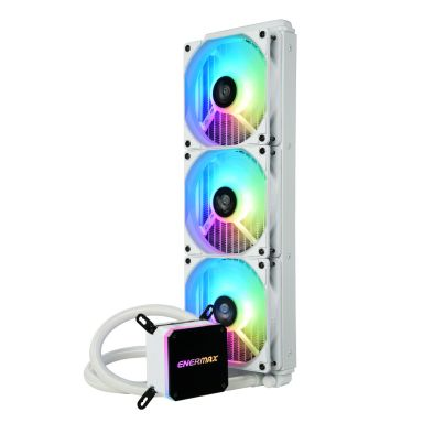 LIQMAX III ARGB series 360mm CPU liquid cooler-white-1