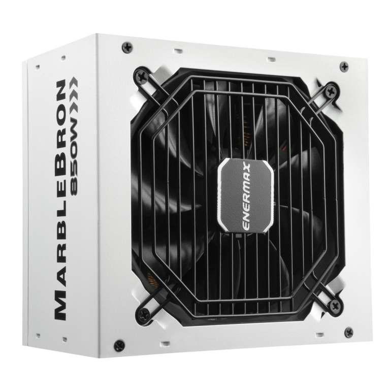 MARBLEBRON 850 Watt 80 PLUS Bronze Semi-Modular Power Supply-white-1