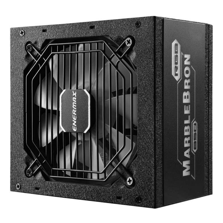 MARBLEBRON 850 Watt 80 PLUS Bronze Semi-Modular RGB Power Supply-1